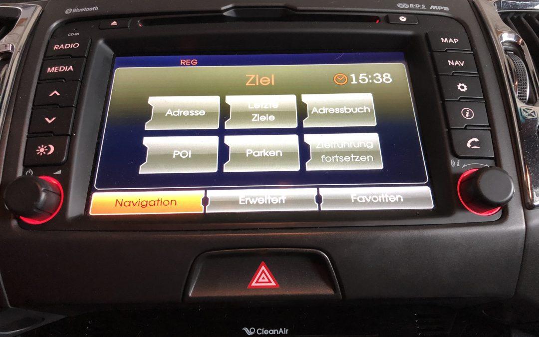 KIA Sportage Navigationsgerät getauscht und neu Codiert